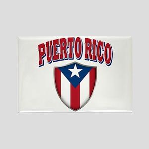 Puerto Rico Rectangle Magnet