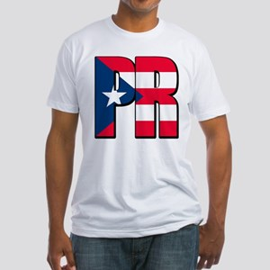 Puerto Rican pride Fitted T-Shirt