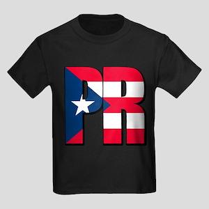 Puerto Rican pride Kids Dark T-Shirt