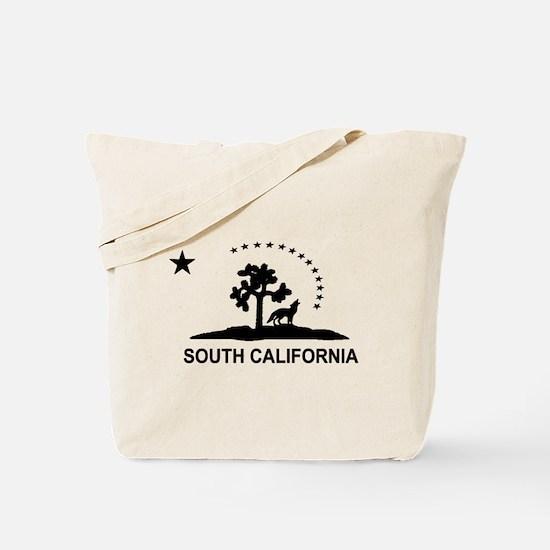 Flag of South California Tote Bag