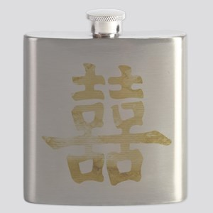 double happiness Flask
