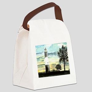 3-TYBEEISLANDLIGHTPOSTER Canvas Lunch Bag