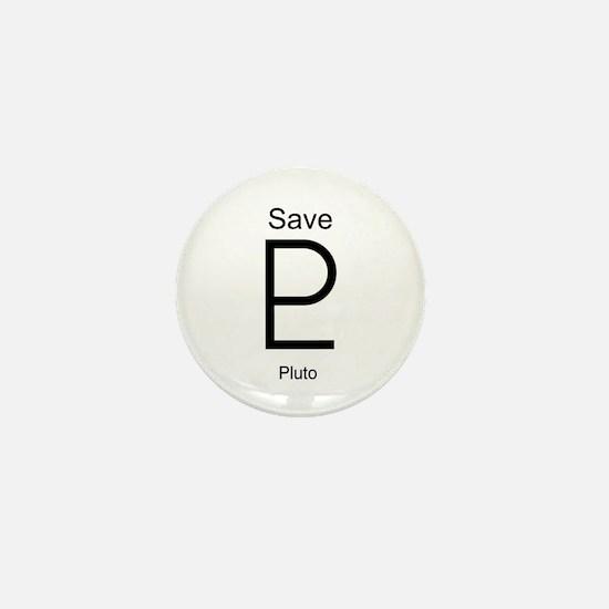 Unique Save pluto Mini Button
