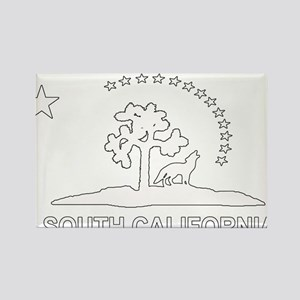 South California Flag Rectangle Magnet