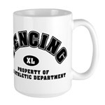 Fencing Dept: Large Mug