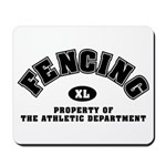 Fencing Dept: Mousepad