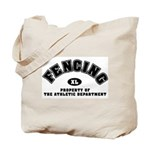 Fencing Dept: Tote Bag