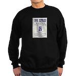 Leo Botrick Wanted Sweatshirt (dark)