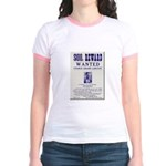 Leo Botrick Wanted Jr. Ringer T-Shirt