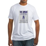 Leo Botrick Wanted Fitted T-Shirt
