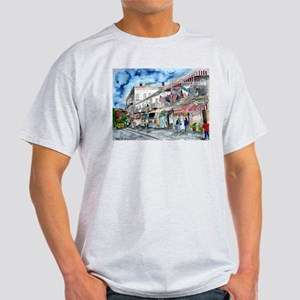 savannah river street painting Light T-Shirt