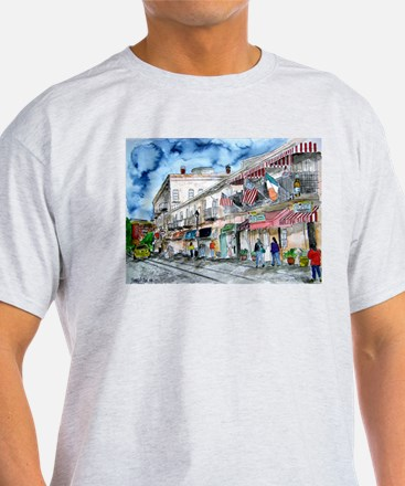 savannah river street painting T-Shirt