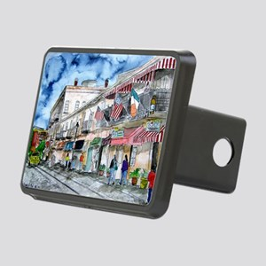 savannah river street painting Rectangular Hitch C