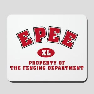 Epee Dept: Mousepad