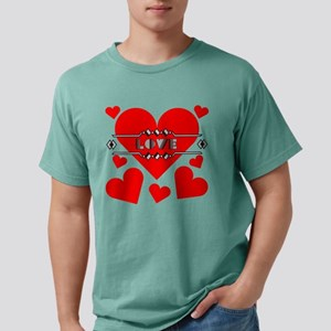 deco-love-hearts-large Mens Comfort Colors Shi