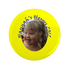 "Hannah 3.5"" Button (100 pack)"