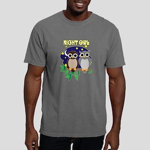 NIGHT-OWL-2 Mens Comfort Colors Shirt