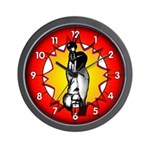 Lunge: Wall Clock