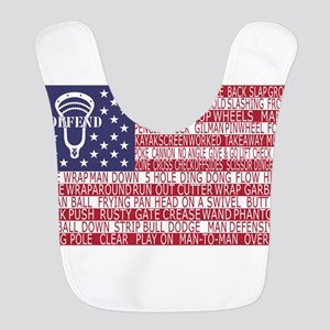 Lacrosse Defense Flag Bib