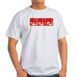 Red Sequence: Light T-Shirt