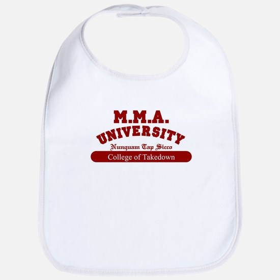 MMA University Takedown Bib