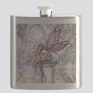 The Lookout Fairy Fantasy Art Flask