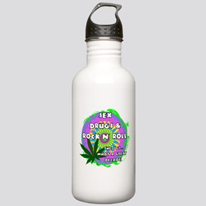 THE 70S WHAT A GREAT DECADE Water Bottle