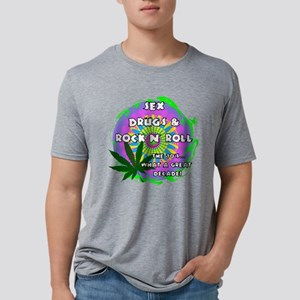 THE 70S WHAT A GREAT DECADE Mens Tri-blend T-Shirt