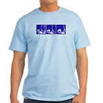 Blue Sequence: Light T-Shirt