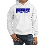 Thrust Sequence: Blue Hooded Sweatshirt