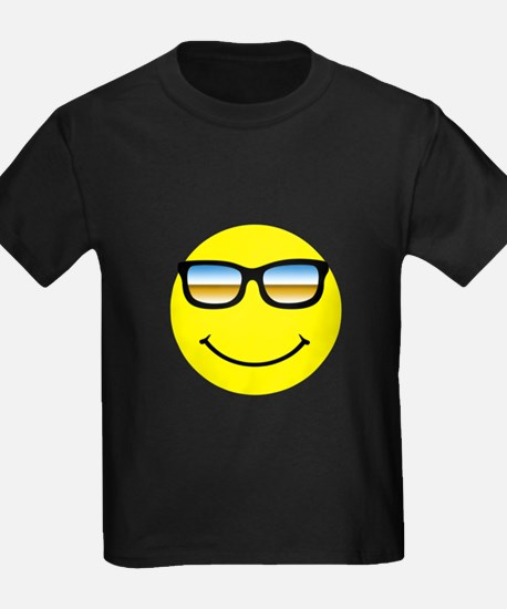 Smiley Face Glasses T