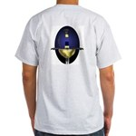 Blue Rapier: Ash Grey T-Shirt