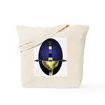 Blue Rapier: Tote Bag