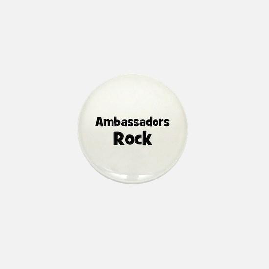 AMBASSADORS Rock Mini Button