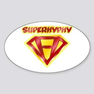 Super Hyphy Oval Sticker