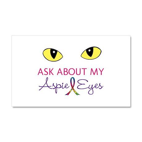 Aspie Eyes Car Magnet 20 x 12