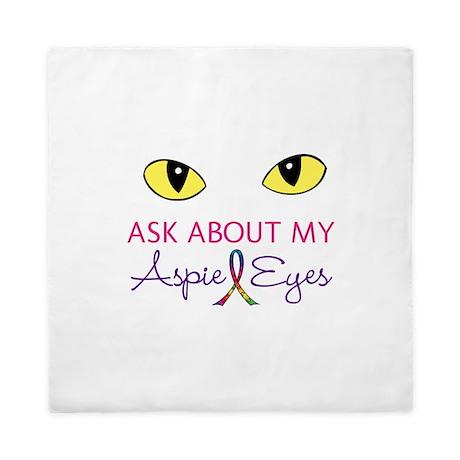 Aspie Eyes Queen Duvet