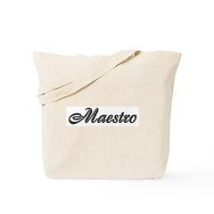 Maestro: Tote Bag