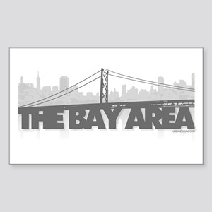 The Bay Area Rectangle Sticker