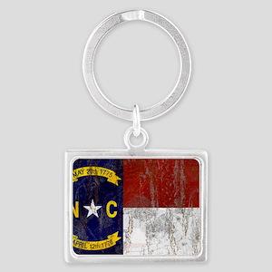 North Carolina Flag Keychains
