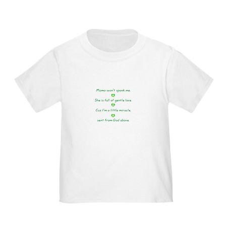 No spanking Toddler T-Shirt