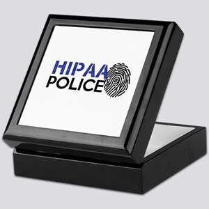 HIPAA Police 02 Keepsake Box