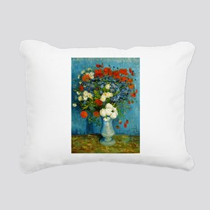 Van Gogh Cornflowers And Poppies Rectangular Canva