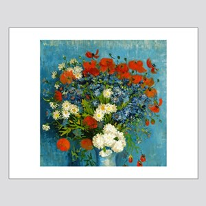 Van Gogh Cornflowers And Poppies Small Poster