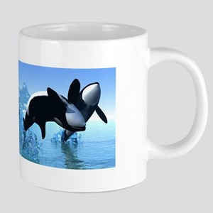 Dolphins And Orca's 20 Oz Ceramic Mega Mug Mug