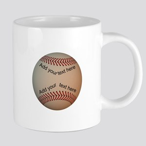 Baseball_118P-1.0 20 oz Ceramic Mega Mug