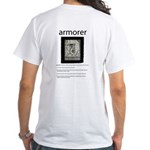 Armorer: White T-Shirt