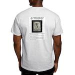 Armorer: Ash Grey T-Shirt