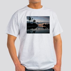 Moorea Sunset Ash Grey T-Shirt