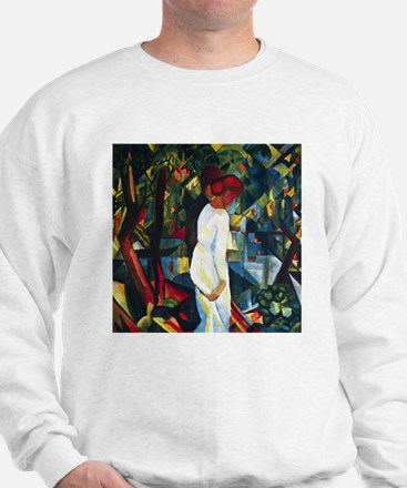August Macke Couple In The Forest Sweatshirt